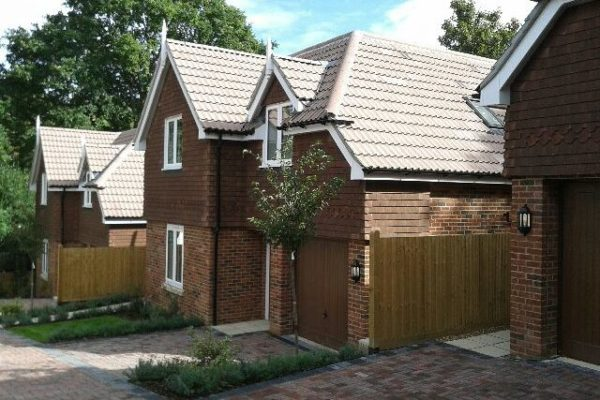 7 detached houses at Keston Avenue, Old Coulsdon (Client: Barnfield Homes)